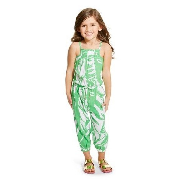 06567408d817 Lilly Pulitzer for Target Other - Lilly Pulitzer Girls  Jumpsuit Romper